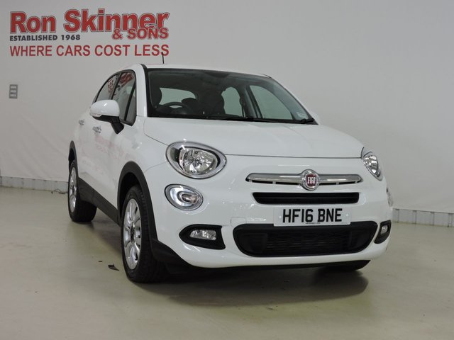 View our 2016 16 FIAT 500X 1.2 MULTIJET POP STAR 5d 95 BHP