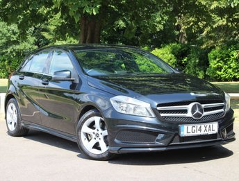 2014 MERCEDES-BENZ A CLASS 1.6 A200 BLUEEFFICIENCY AMG SPORT 5d AUTO 156 BHP £13695.00