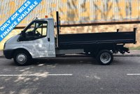 2012 FORD TRANSIT 2.2 RWD 350 MWB DRW TIPPER 100BHP 6 SPEED £10995.00