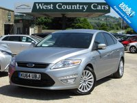 USED 2014 64 FORD MONDEO 2.0 ZETEC BUSINESS EDITION TDCI 5d 138 BHP Big Spec Family Car