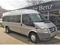 2009 FORD TRANSIT 2.4 TDCi 430 EL Trend Medium Roof Bus 4dr (Extra Long, 17 Seat) £6495.00