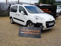 USED 2014 14 PEUGEOT PARTNER 1.6 HDI TEPEE OUTDOOR 5d 115 BHP (VAT QUALIFYING) 5 SEATS