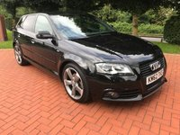 2012 AUDI A3 2.0 SPORTBACK TDI S LINE SPECIAL EDITION 5d 138 BHP £8990.00