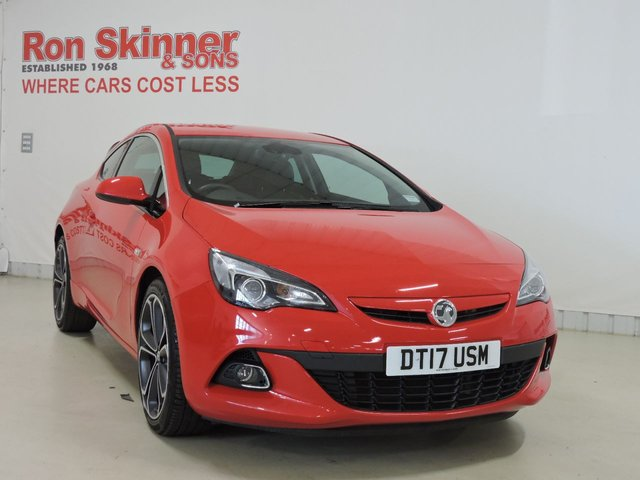 View our 2017 17 VAUXHALL ASTRA 1.4 GTC LIMITED EDITION S/S 3d 138 BHP with Rear Parking Sensors