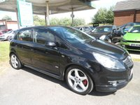 USED 2008 57 VAUXHALL CORSA 1.6 SRI TURBO A/C 5d 148 BHP