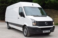 2013 VOLKSWAGEN CRAFTER 2.0 CR35 TDI H/R P/V 1d 108 BHP £8450.00