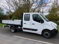 2015 VAUXHALL MOVANO DC TIPPER DRW 125 BHP £14595.00