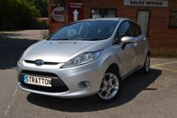 USED 2011 61 FORD FIESTA 1.2 ZETEC 5d 81 BHP Superb history, lovely condition, Bluetooth, USB, Electric Windows, Fiesta Zetec
