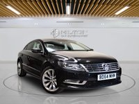 USED 2014 64 VOLKSWAGEN CC 2.0 GT TDI BLUEMOTION TECHNOLOGY DSG 4d AUTO 138 BHP + 1 PREV OWNER +  SAT NAV + AIR CON + AUX + BLUETOOTH + SERVICE HISTORY
