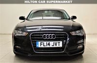 USED 2014 14 AUDI A5 2.0 SPORTBACK TDI 5d 177 BHP + 1 OWNER +  SERVICE HISTORY  + AIR CON + AUX + BLUETOOTH