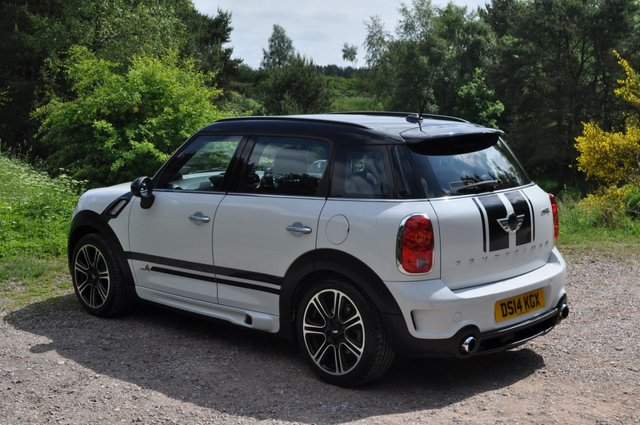 USED 2014 14 MINI COUNTRYMAN 1.6 COOPER S ALL4 5d 184 BHP