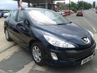 2010 PEUGEOT 308 1.6 S 5d 120 BHP £3175.00