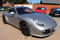 USED 2010 60 PORSCHE CAYMAN 3.4 24V S PDK 2d AUTO 320 BHP PDK GEARBOX+LEATHER+ALLOYS