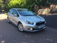 2013 KIA CEED 1.4 CRDI ECODYNAMICS ESTATE PLEASE CALL TO VIEW £6250.00