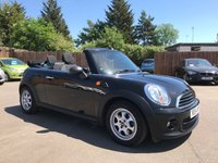 2014 MINI CONVERTIBLE 1.6 ONE 2d  A VERY LOW MILEAGE CONVERTIBLE  £9000.00
