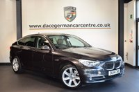 USED 2014 14 BMW 5 SERIES GRAN TURISMO 3.0 530D LUXURY GRAN TURISMO 5DR AUTO 255 BHP 1 Owner  + FULL BLACK LEATHER INTERIOR + FULL BMW SERVICE HISTORY + 1 OWNER FROM NEW + PRO SATELLITE NAVIGATION + PANORAMIC ROOF + HEATED SEATS WITH MEMORY + REVERSE CAMERA + HIFI SPEAKERS + DAB RADIO + PARKING SENSORS + 18 INCH ALLOY WHEELS +