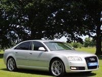 2009 AUDI A8 3.0 TDI QUATTRO DPF SPORT 4d AUTO 229 BHP £6995.00