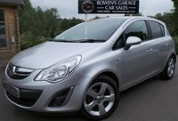 USED 2011 11 VAUXHALL CORSA 1.2 SXI A/C 5d 83 BHP Low mileage - 6 Service Stamps - Air Con