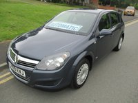 2009 VAUXHALL ASTRA 1.8 LIFE A/C 16V E4 5d AUTO 140 BHP £2999.00