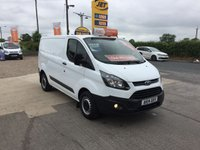 2014 FORD TRANSIT CUSTOM  CUSTOM 270 2.2 ECO-TECH **ONE OWNER DIRECT**ONLY 44000 MILES** £9495.00