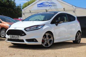 2014 FORD FIESTA 1.6 ST-3 3d 180 BHP £11250.00