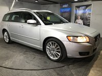 USED 2007 57 VOLVO V50 2.0 SE LUX D 5d 135 BHP Full leather upholstery : Heated front seats       :        Electric/Memory driver's seat       :        Rear parking sensors      : Full service plus new timing belt and MOT when sold