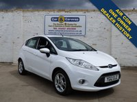 USED 2012 12 FORD FIESTA 1.4 ZETEC 16V 5d AUTO 96 BHP One Owner Dealer History A/C 0% Deposit Finance Available