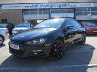 USED 2013 13 VOLKSWAGEN SCIROCCO 2.0 TDI BLUEMOTION TECHNOLOGY DSG 2d AUTO 140 BHP