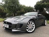USED 2015 15 JAGUAR F-TYPE 3.0 V6 2d AUTO 340 BHP GLORIOUS 3.0 SUPERCHARGED ENGINE!! GREAT SPEC!! FSH!! BARGAIN!!