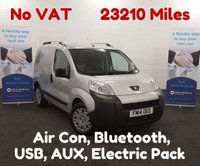 USED 2014 14 PEUGEOT BIPPER 1.3 HDI PROFESSIONAL   ** NO VAT **    Low Mileage 23,210, Bluetooth, Air Con. **NO VAT** **Drive Away Today** Over The Phone Low Rate Finance Available
