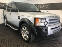 2007 LAND ROVER DISCOVERY 2.7 3 TDV6 HSE 5d AUTO 188 BHP £8200.00