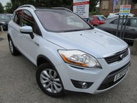 USED 2010 60 FORD KUGA 2.0 TITANIUM TDCI AWD 5d AUTO 163 BHP One owner, Full Service History, Highest spec anywhere