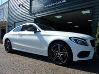 USED 2016 66 MERCEDES-BENZ C CLASS 2.1 C 250 D 4MATIC AMG LINE PREMIUM PLUS 2d AUTO 201 BHP