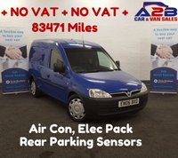 USED 2006 06 VAUXHALL COMBO 1.3 2000 CDTI  ** NO VAT**  Air Con, Rear Parking Sensors,** NO VAT** **Drive Away Today**  01709 866668.