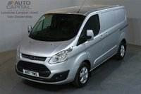 USED 2017 17 FORD TRANSIT CUSTOM 2.0 290 LIMITED 129 BHP L1 H1 SWB LOW ROOF A/C E6 ONE OWNER FROM NEW, MANUFACTURE WARRANTY UNTIL 3/07/2020