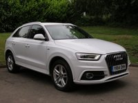 USED 2014 14 AUDI Q3 2.0 TDI S line S Tronic Quattro 5dr SAT NAV!! BUY NOW PAY LATER!!