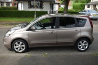 USED 2010 10 NISSAN NOTE 1.6 TEKNA 5d AUTO 110 BHP SERVICE HISTORY, SAT NAV, BLUE TOOTH, HALF LEATHER, AUTOMATIC GEARBOX