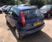 USED 2008 57 FORD FIESTA 1.2 STYLE CLIMATE 16V 3d 78 BHP