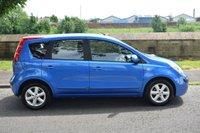 USED 2007 07 NISSAN NOTE 1.6 SE 5d AUTO 109 BHP SERVICE HISTORY, SPORTS SEATS, RADIO CD PLAYER, AUTOMATIC GEARBOX