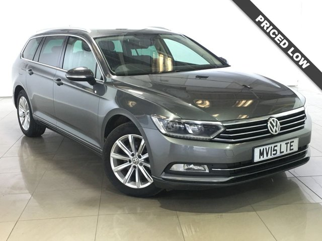 View our 2015 15 VOLKSWAGEN PASSAT 2.0 SE BUSINESS TDI BLUEMOTION TECHNOLOGY NAV 5d 148 BHP