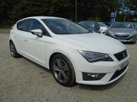 2015 SEAT LEON 2.0 TDI FR (Tech Pack) (s/s) 5dr £10495.00