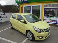 USED 2016 66 VAUXHALL VIVA 1.0 SE AC 5d 74 BHP **ONLY 8,500 MILES FROM NEW ..ONE OWNER CAR FROM NEW..