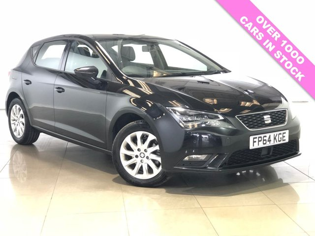 View our 2014 64 SEAT LEON 1.6 TDI SE TECHNOLOGY NAV DSG 5d AUTO 105 BHP