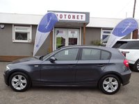 2008 BMW 1 SERIES 1.6 116I SE 5DR HATCHBACK 121 BHP £4240.00