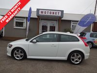 USED 2009 59 VOLVO C30 1.6 D DRIVE R-DESIGN 3DR DIESEL+++£30 PER YEAR TAX+++ +++WORLD CUP SALE NOW ON+++
