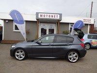 2013 BMW 1 SERIES 2.0 118D M SPORT 5DR DIESEL 141 BHP+++£30 PER YEAR TAX+++ £10880.00