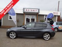 USED 2013 13 BMW 1 SERIES 2.0 118D M SPORT 5DR DIESEL 141 BHP+++£30 PER YEAR TAX+++ ++++SUMMER SALE NOW ON+++