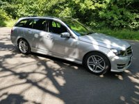 2014 MERCEDES-BENZ C CLASS 2.1 C220 CDI AMG SPORT EDITION PREMIUM PLUS 5d AUTO 168 BHP £SOLD