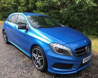 2014 MERCEDES-BENZ A CLASS 1.5 A180 CDI BLUEEFFICIENCY AMG SPORT map pilot 5d 109 BHP £11999.00