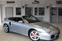 USED 2003 53 PORSCHE 911 3.6 TURBO 2d 420 BHP FULL BLACK LEATHER SEATS + FULL PORSCHE SERVICE HISTORY + SAT NAV + 18INCH ALLOYS + HARD TOP + HEATED FRONT SPORT SEATS + AIR CONDITIONING
